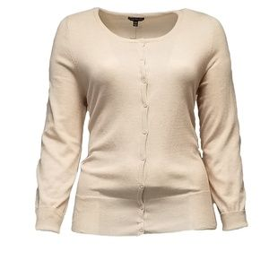 Lane Bryant Cream Cardigan Sweater(14/16)